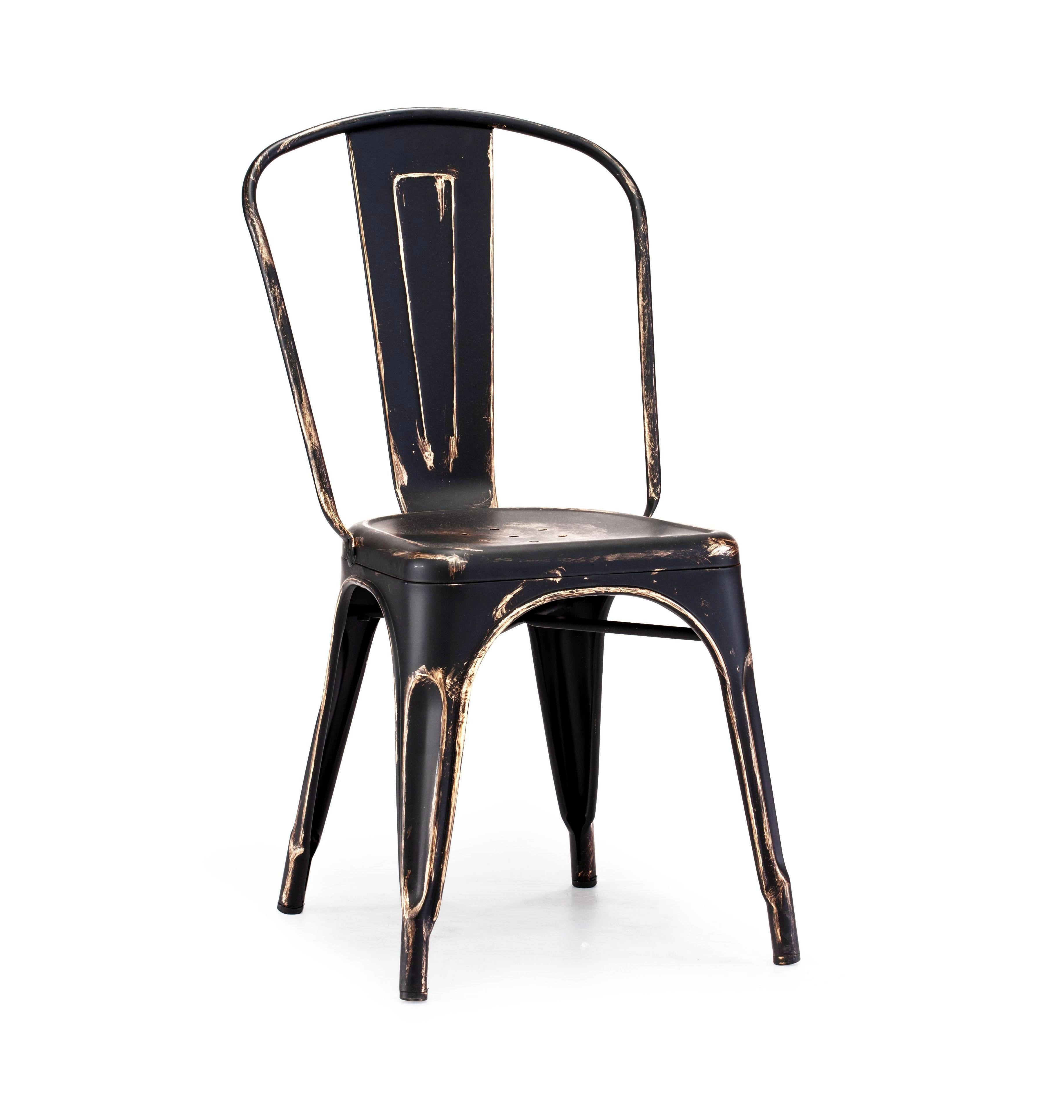 Black Gold Vintage Metal Tolix Chair U2013 Hospitality Chairs U2013  Hospitalitychairs.com