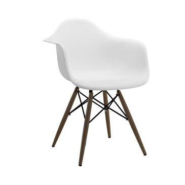 Eames Eiffel Angel White Arm Chair