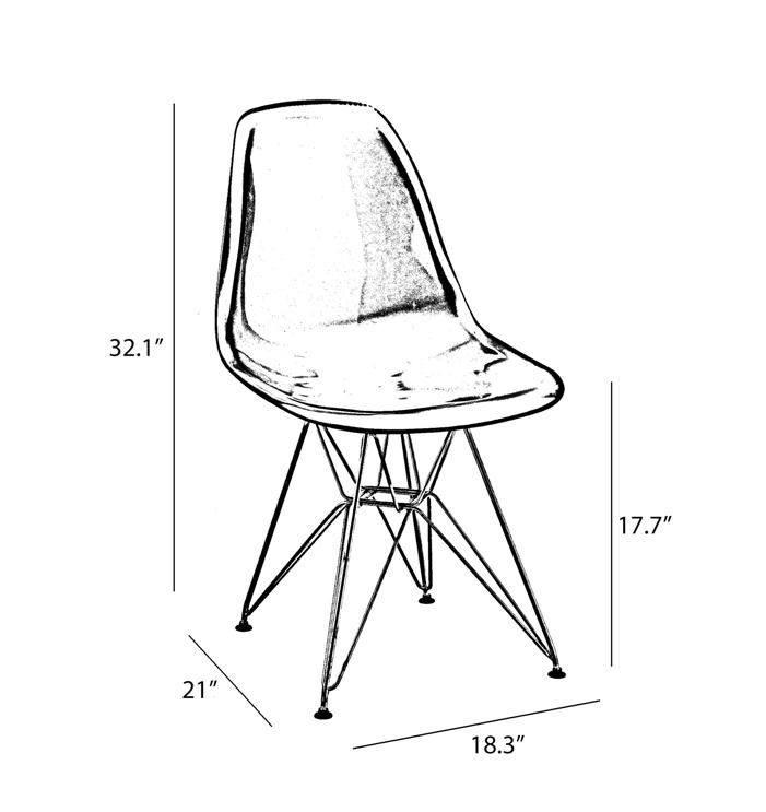 Eames Eiffel Black Side Chair U2013 Hospitality Chairs U2013 Hospitalitychairs.com