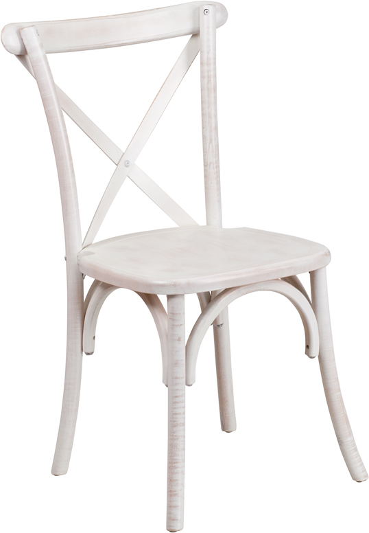 Vintage White Wash Cross Back Beech Wood Chair Hospitality Chairs Hospitalitychairs Com